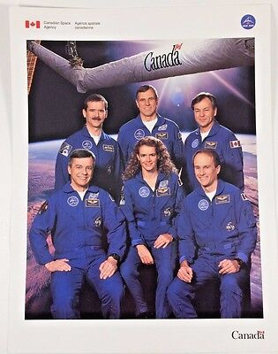 Canadian Space Agency CSA Crew Photo