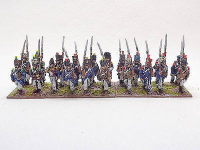 28mm Napoleonic metal FRENCH INFANTRY x20 Well Painted Front Rank 41647