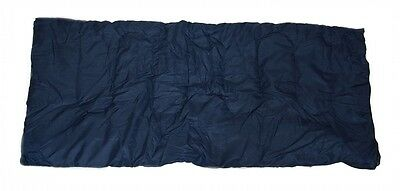 SLEEPING BAG - 20+ Degrees F - NAVY BLUE - CAMPING GEAR - Carrying Bag NEW