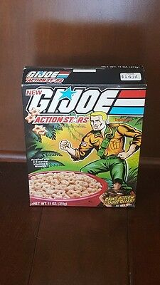Authentic Vintage 1985 Ralston G.I. JOE Cereal Box Box ONLY Empty