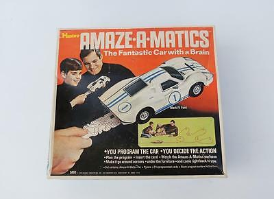 Vintage Hasbro AMAZE-A-MATICS Car with Brain 1969 Mark IV Ford 5865 in Box