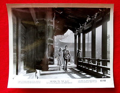 Bridge to the Sun 1961 Movie photo Carroll Baker James Shigeta msc4