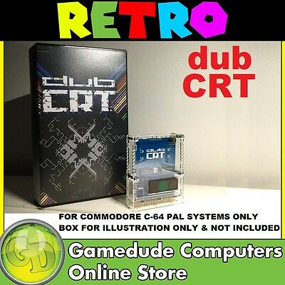 dub CRT interactive Visualizer for Commodore C64 (PAL SYSTEMS ONLY)  [03]