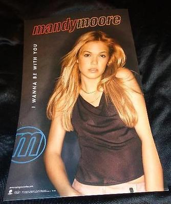 Mandy Moore *Two Vintage 11x17 Posters From Her 2000 Debut Record!