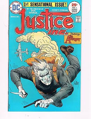 Justice Inc. #1 (1975 Dc)  Featuring The Avenger From The Creator Of Doc Savage