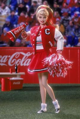 BARBIE Coca Cola (Coke) Cheerleader Doll 4th in Series Mattel 2000' CE NRFB