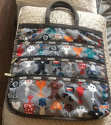 Lesportsac Tote Bag Purse Organizer Estate Item