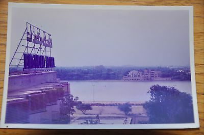 Iraqi Freedom OIF 1st Armored Photograph 3 x 5 Rooftop Baghdad Hotel Tigris