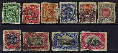 Mexico 294-305 Used 1899 Set $20.25