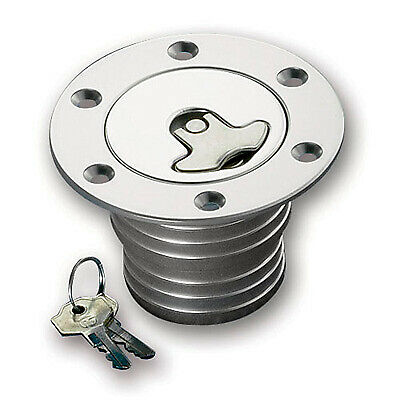 "Mocal Small Diameter Flush Fit Fuel Filler Cap 2"" Diameter With Funnel -"