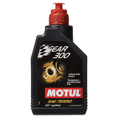 Motul Gear 300 75W90 Fully Synthetic Racing Gearbox & Differential Oil - 1 Litre
