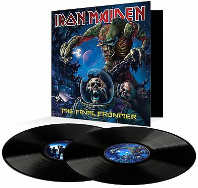 Iron Maiden - The Final Frontier - New Double 180g Vinyl LP - Pre Order - 28/7