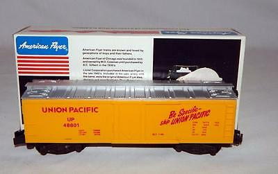 American Flyer Trains 6-48801 Union Pacific Reefer BOXD Refrigerator Car S gauge