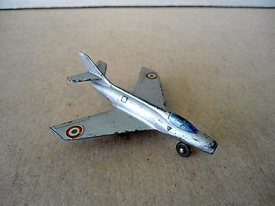 French Dinky no.60A Dassault Mystere Military Aircraft.Vintage Diecast