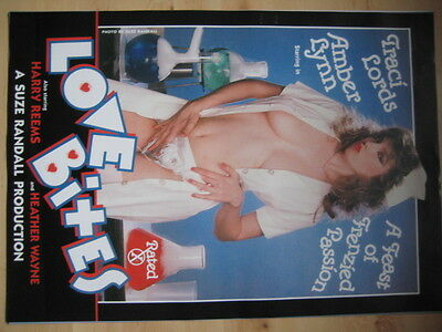 A1 Filmposter TRACI LORDS in Love Bites - Movie Poster