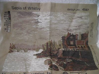 Readicut 'sepia of Whitby' Printed Tapestry Canvas