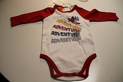 New Pumpkin Patch Boys Long Sleeve Romper Outfit Size 0-3 Months
