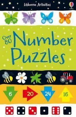 Over 80 Number Puzzles 9781409584544 (Paperback, 2014)