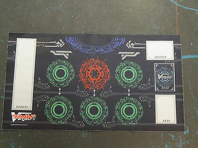 Cardfight Vanguard Playmat - Red Style Fabric Campaign Play Mat - USED