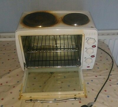 igenix mini oven with double hot plate