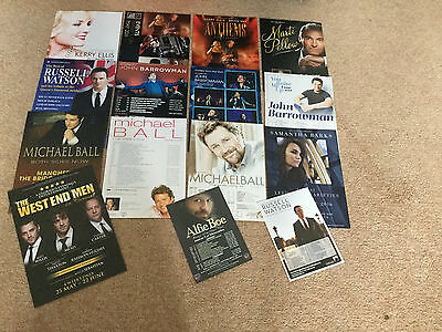 West End Musical Theatre Stars In Concert Michael Ball Alfie Boe Kerry Ellis
