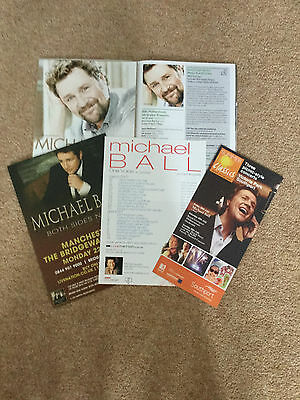 Michael Ball Collection Various Items