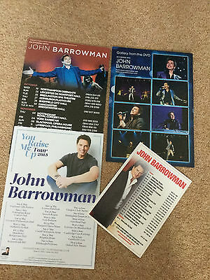 John Barrowman Collection Various Items Torchwood