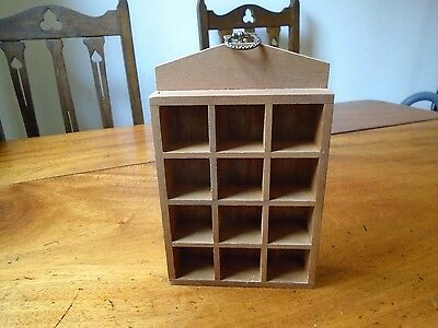 Wooden Thimble  whimsy Display Rack
