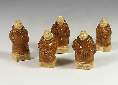 Set Of Five Wade Kp Friar Figures