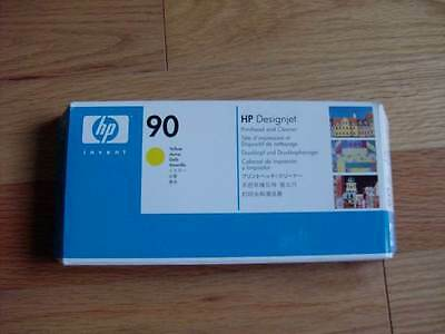 Genuine Hp #90 Yellow Printhead/cleaner Designjet 4000 4500 C5057A Factory Seal