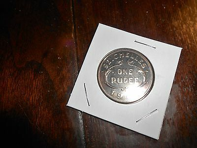 Nice Seychelles One Rupee 1969 Proof Coin Coin