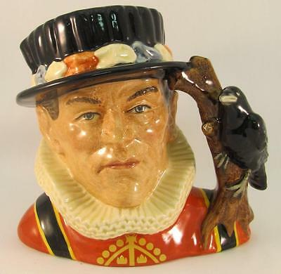 Royal Doulton Large Character Jug The Yeoman of the Guard D6873