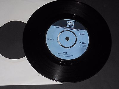 "Vinyl Single 7"" THE KINKS A: Lola B: Berkeley Mews"