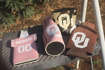 OU Sooners, University of Oklahoma football, can & bottle coozie,  can, bottle c