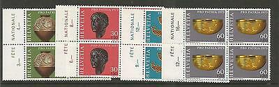 Switzerland 1973 Pro Patria -Archaeology -  SG#869-872. MNH. Bl/4. Complete set