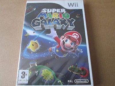 Super Mario: Galaxy (Nintendo Wii, 2007)  NEW AND SEALED PAL