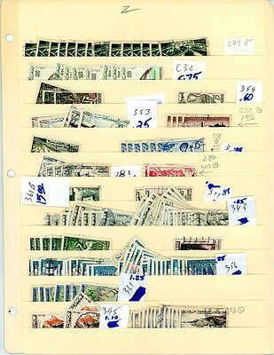 Tunsie - selection of 100+ stamps - High Value