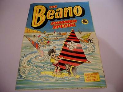 Vintage  The Beano Summer Special'  - DC Thomson 1983 , 32 Pages  GC
