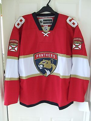BNWT Florida Panthers   #68 Jagr   Red   'Home'    Ice Hockey Jersey