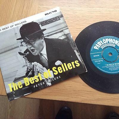 The Best Of Peter Sellers 1958 Vinyl 45 Rpm P/ Sleeve Record