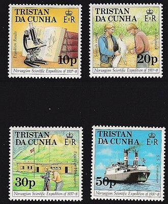 Tristan 1987 50th Anniversary of the Norwegian Scientific Expedition MNH (3)