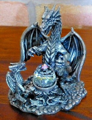 Tudor Mint Myth & Magic Collectors Figurine - Drawing The Power, # 3942 Pewter