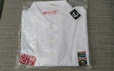 South Africa Cricket Polo shirt -  BNWT Size XL