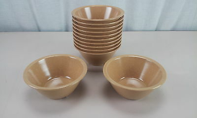 Halsey Melamine 17 oz Bowl Tan Set of 12