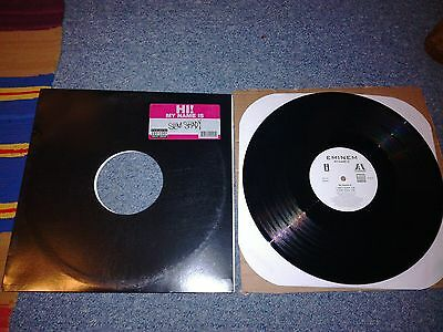 "Eminem - my name is - 12"" single 1999 vgc/vgc"