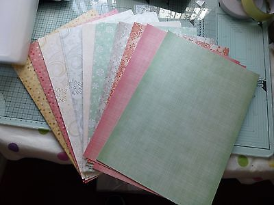 20 x A4 Sheets of Printed Pearlescent Cardstock (new)