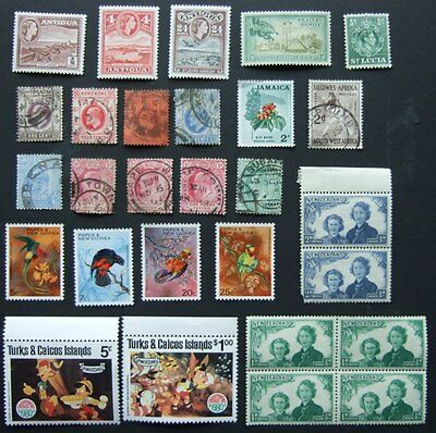 British Commonwealth - Selection of stamps