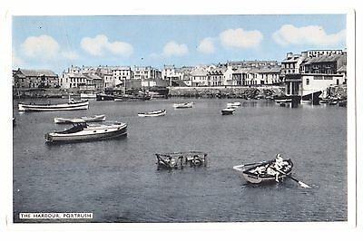 Old Postcard 'The Harbour' Portrush Co Antrim 1963