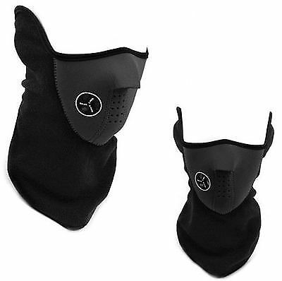 Thermal Biker Face Mask Ski Neck Warmer Sport Snood Bandana Uk