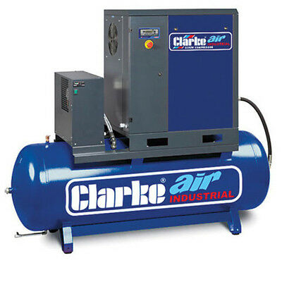 Clarke CXR15RD 15HP Industrial Screw Compressor with Air Receiver & Dryer - 2456